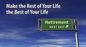 retirement exit