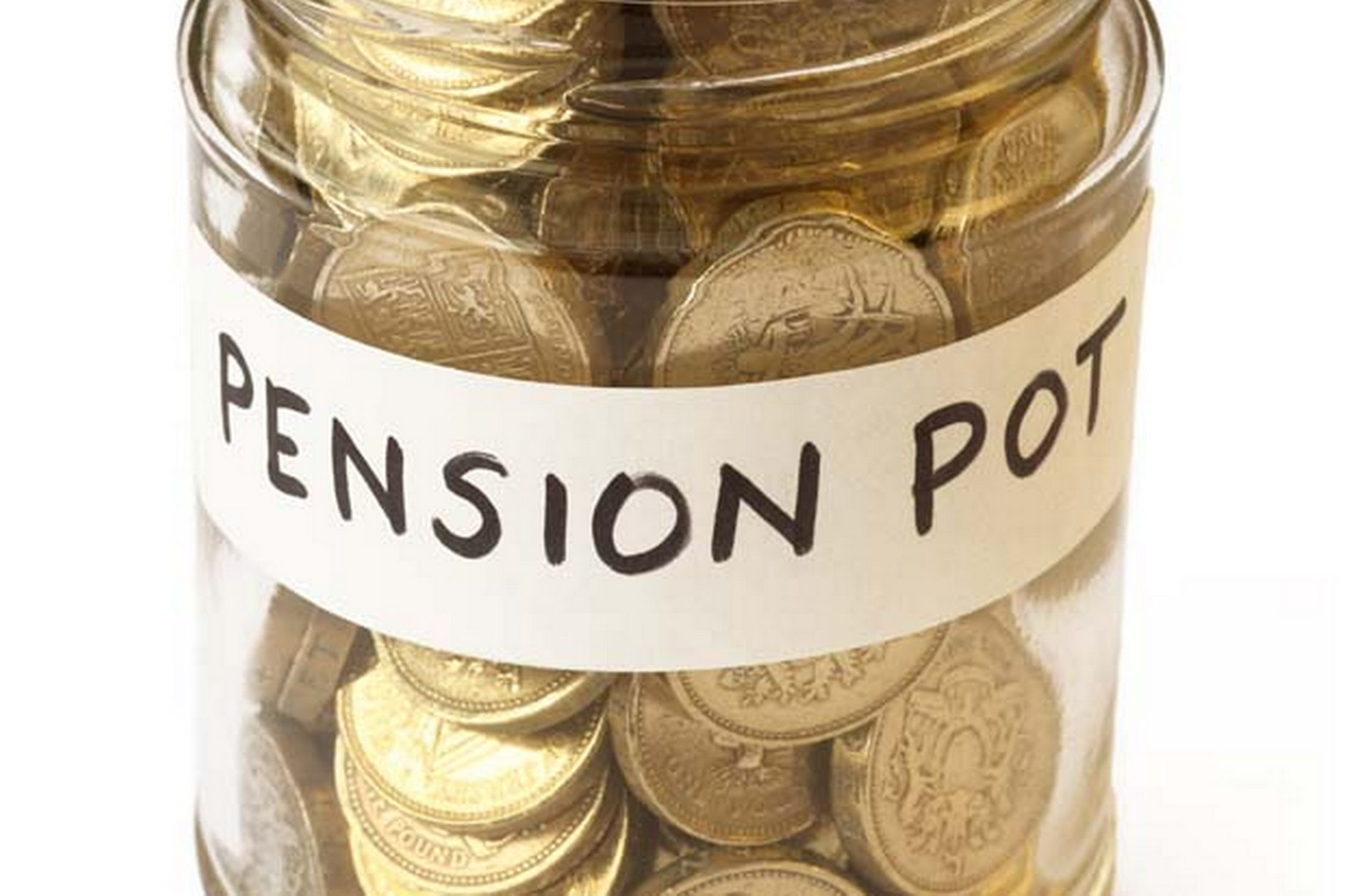 Savings for pension collected in jam jar-1744280 (1)